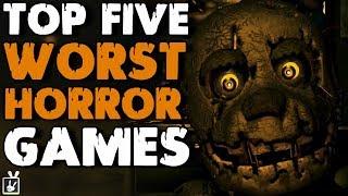 Top Five Worst Horror Games - rabbidluigi