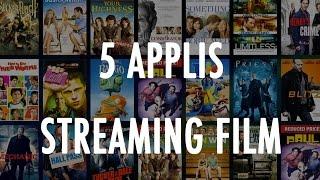 Le TOP 5 - Les applications pour le streaming de film