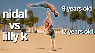 DANCE MOMS LILLY K vs EXTREME ACRO GYMNAST *Insane Competition*