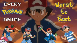 Every Pokemon Anime Series Ranked from Worst to Best