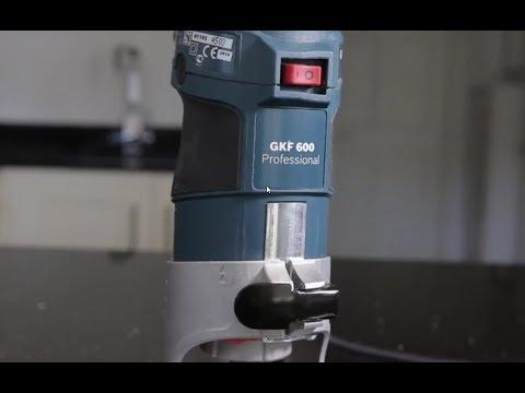 Bosch GFK600 Kit Palm Router 600 Watt 240v