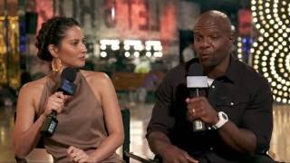Backstage with Olivia Munn & Terry Crews at Lip Sync Battle: All-Stars Live