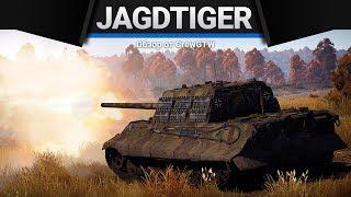 Jagdtiger ПРОТИВ ВЕРТОЛЁТОВ в War Thunder