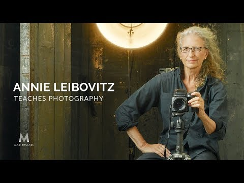 World-renowned Photographer Annie Leibovitz's MasterClass is Available Today
