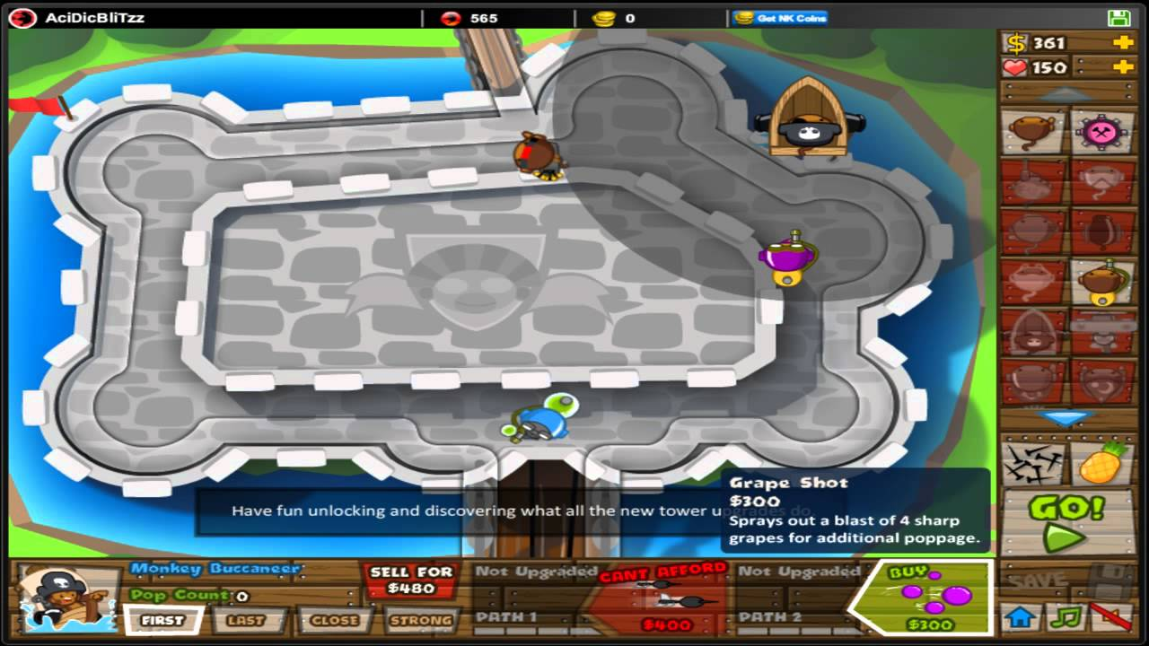 Btd5 Fast Upgrades Fast Xp And Upgrades On Btd5 Youtube