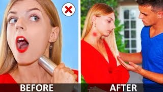 Funny and Useful Beauty Hacks! Outfit Life Hacks and More DIY