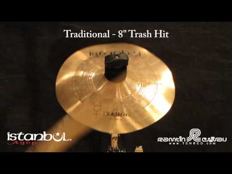 "Istanbul Agop Istanbul Trash Hit 8"" Cymbal"