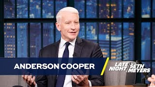 Anderson Cooper's Mom Emailed Him in the Middle of a Hurricane for Instagram Advice