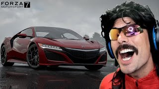 DrDisRespect plays Forza Motorsport 7