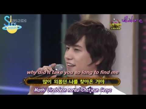Kyuhyun singing Couple (Sechskies) (Eng/Esp)