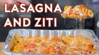 Binging with Babish: Ziti and Lasagna from The Sopranos