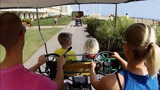 Virginia Beach family vacation with 2 Kids - Aug 2014