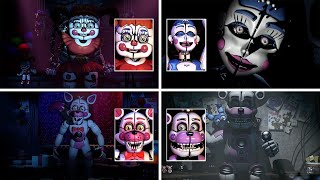 FNAF Sister Location Animatronic Interviews