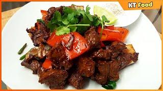 BÒ LÚC LẮC - Bí quyết Nhà Hàng [English Caption] Vietnamese Shaking Beef Restaurant Style Recipe
