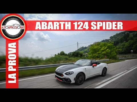 Abarth 124 Spider | Video prova in anteprima