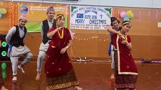 Nepali kids dancing in christian songs
