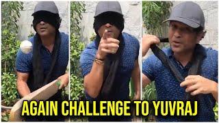 Sachin Tendulkar accepts Yuvraj Singh challenge, again thr..