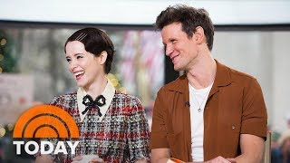 'The Crown' Stars Claire Foy And Matt Smith Open Up About Season 2 | TODAY