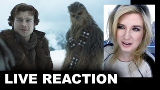 Solo A Star Wars Story Teaser Trailer REACTION