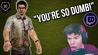 Trolling TTVs As A Rank 20 Dwight - Dead By Daylight