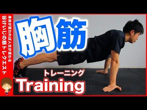 【胸筋 鍛え方】かっこいい立体的な胸筋の作り方を教えます。