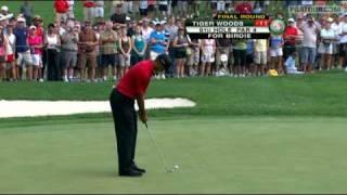 Tiger Woods wins 70th title at WGC-Bridgestone Invitational '09