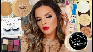 DRUGSTORE HOLIDAY GLAM MAKEUP TUTORIAL | Casey Holmes