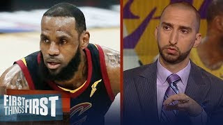 How long is LeBron's championship window open in LA? | NBA | FIRST THINGS FIRST