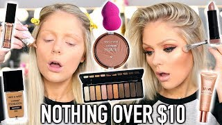FULL FACE NOTHING OVER $10 | DRUGSTORE MAKEUP TUTORIAL