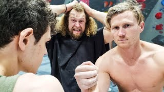 Pro Climber = Arm Wrestling Pro? Magnus RETURNS!