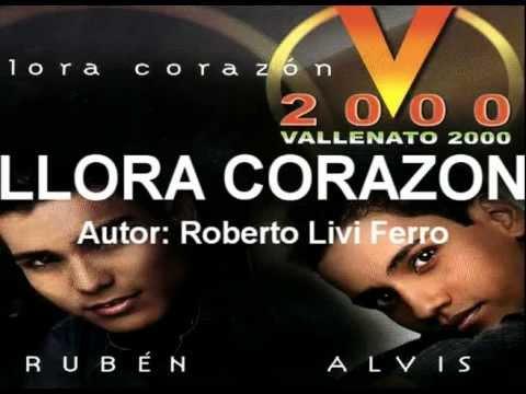 VALLENATO 2000 - Llora Corazon (2002) Disco Completo