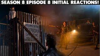 """TWD Season 8 Episode 8 Reactions & """"Shocking Surprise"""" Death EXPLAINED"""