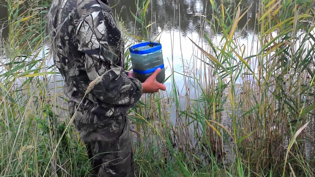 Как перевозить живца на рыбалку