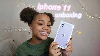 iphone 11 unboxing (my bank account isn't okay)   seasonsofshai