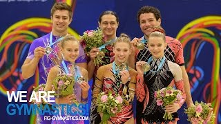 HIGHLIGHTS - 2014 Acrobatic Worlds, Levallois-Paris (FRA) - Mixed Pairs - We are Gymnastics!
