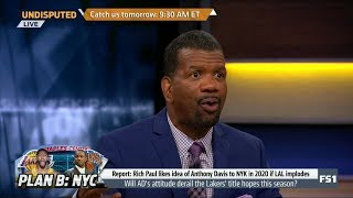 UNDISPUTED   Rob Parker on: Will Anthony Davis's attitude derail Lakers' title hopes this season?