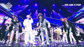 190425 Mnet 엠카운트다운 BTS 방탄소년단 1위 수상소감 및 앵콜 무대
