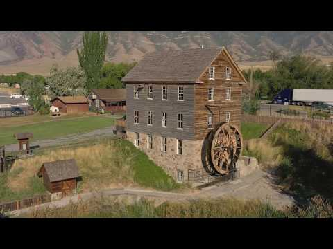 AERIAL FOOTAGE OF BENSON GRISTMILL
