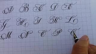 Cách viết chữ đẹp -  Bảng Chữ Hoa Sáng Tạo
