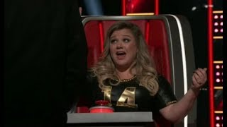 """Kelly Clarkson Hits EFFORTLESS F#6/G6 on """"The Voice"""""""