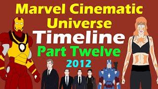 Marvel Cinematic Universe: Timeline (Part 12 - Spoilers)