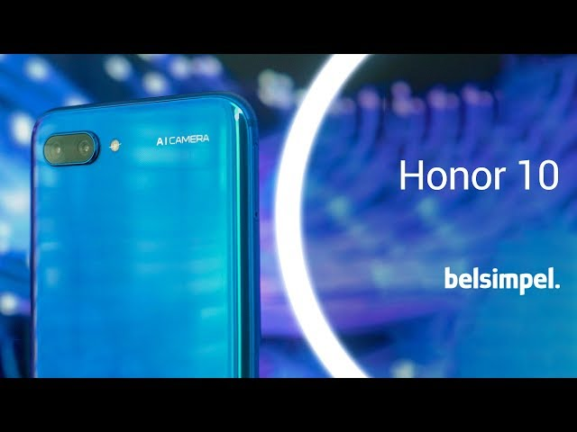 Belsimpel-productvideo voor de Honor 10 64GB Black