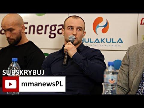 """Mateusz Rębecki: """"Mistrzowski pas FEN, będzie dobrze wyglądał w moim CV."""""""