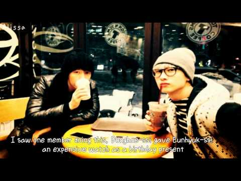 ENG | SPA Donghae gave Eunhyuk an expensive gift when he wasn't supposed to?!?! - EunHae