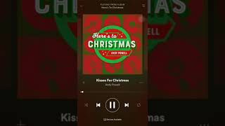 Kisses For Christmas - Andy Powell (feat. Louise Clare Marshall)