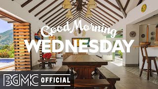WEDNESDAY MORNING JAZZ: Positive Coffee Music & Jazz Music Radio for Happy Summer Morning