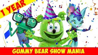 ONE YEAR CHANNELVERSARY! Top 10 Most Watched Videos - Gummy Bear Show MANIA