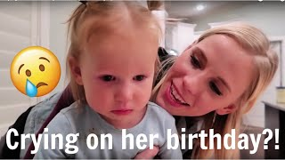 Crying on her birthday! 😢    Cosy's Birthday Special!