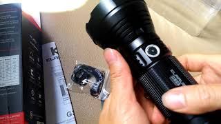 Đèn Pin Chiếu xa 1000m Klarus G35 Chuyên Dụng Tuần Tra Tầm Xa. Giá 2.750.000đ - 0962738673