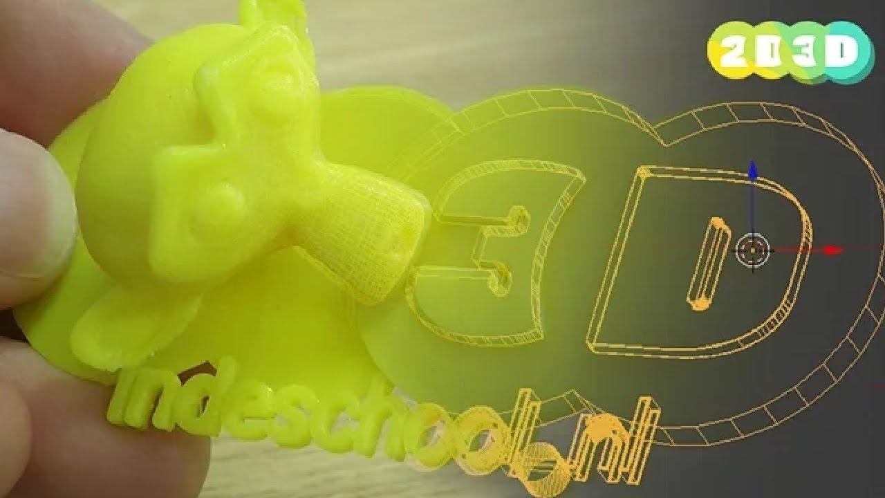 2D3D 3D printen